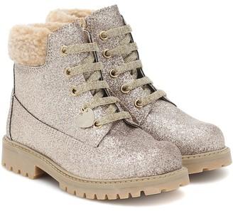 MonnaLisa Embellished ankle boots