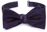 The Tie Bar Men's Herringbone Silk Bow Tie