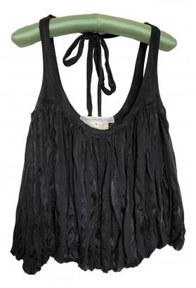 Anne Valerie Hash Black Silk Tops