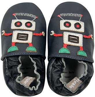 Tommy Tickle Unisex Babies' Robot Open Back Slippers