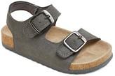 Cat & Jack Toddler Boys' Christian Strappy Footbed Sandals Cat & Jack - Grey