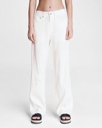 Logan linen blend jean