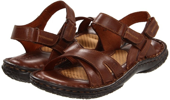 Børn Merrick (Tan Full Grain Leather) - Footwear