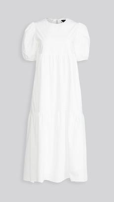 En Saison Poplin Midi Dress