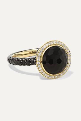 Ippolita Lollipop 18-karat Gold And Ceramic Multi-stone Ring - 7