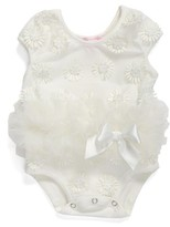 Infant Girl's Popatu Daisy Tutu Bodysuit