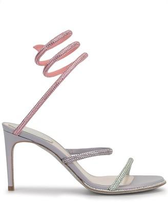 Rene Caovilla Cleo embellished 80mm sandals