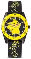 Pokemon Kid's Wristwatch Silicone - Black