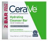 CeraVe Hydrating Cleansing Bar Soap for Normal to Dry Skin - 4.5oz - 2ct