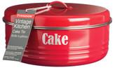 Typhoon Vintage Kitchen Cake Tin 4.3l - Red