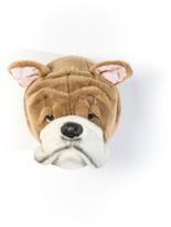 Wild & Soft Bibib Bulldog Head