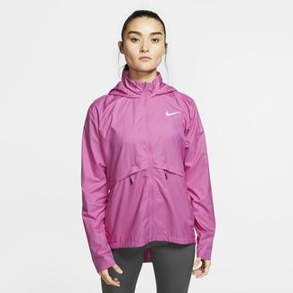 Nike Women's Packable Running Rain Jacket Essential