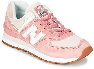 New Balance 574 women's Shoes (Trainers) in Pink
