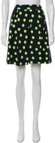 Marc by Marc Jacobs Polka Dot Knit Skirt