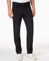 William Rast Men's Straight-Fit Hixon Black Jeans