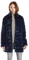 Laundry by Shelli Segal Women's Faux-Fur Coat