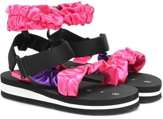 Midnight 00 Exclusive to Mytheresa Satin sandals