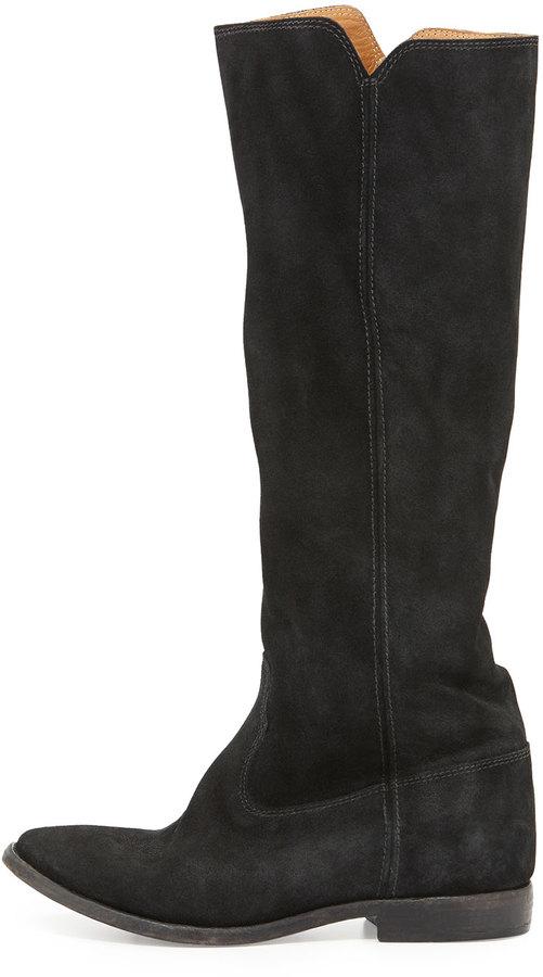 Isabel Marant Cleave Hidden-Wedge Knee Boot