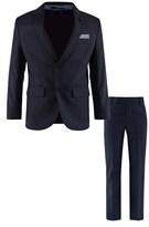 BOSS Navy Cool Wool 2 Piece Suit