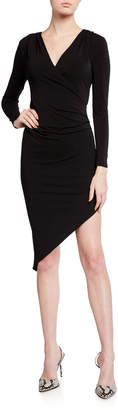 BCBGeneration Asymmetrical Jersey Dress