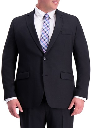 Haggar Big & Tall Travel Performance Classic-Fit Stretch Suit Jacket