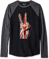 Lucky Brand Men's the Who Peace Hand Graphic Tee