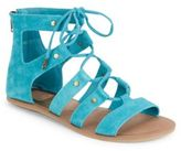Dolce Vita Val Suede Lace-Up Sandals