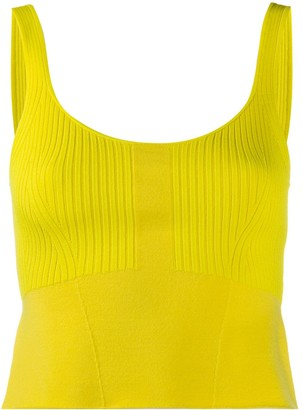 3.1 Phillip Lim Knitted Sleeveless Tank Top