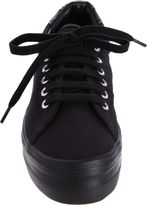 No Name Plato Platform Sneakers-Black