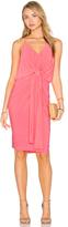 MISA Los Angeles Domino Midi Dress