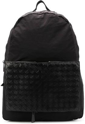 Bottega Veneta removable intrecciato pouch backpack