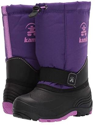 Kamik Rocket Wide (Toddler/Little Kid/Big Kid) (Purple/Iris Orchid) Girls Shoes
