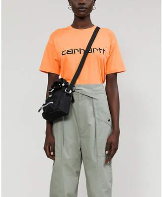 Selfridges Carhartt Wip Logo-print cotton-jersey T-shirt