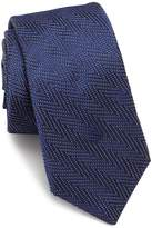 Ike Behar Men's Chevron Silk Tie