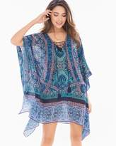 Soma Intimates Lace Up Caftan Swim Cover Up
