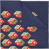 Gucci Wallpaper print scarf - women - Silk - One Size