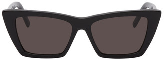 Saint Laurent Black Angular SL 276 Sunglasses