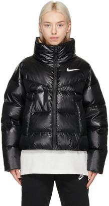 Nike Black Down Puffer Jacket