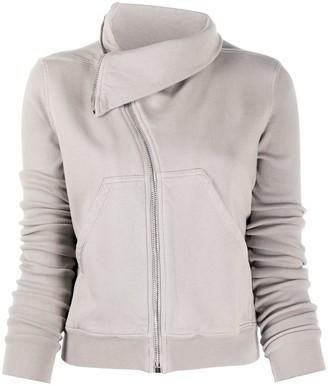 Rick Owens Off-Centre Zipped Sweater