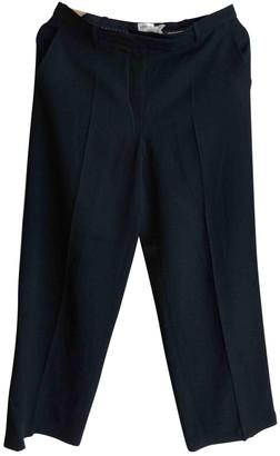 Armani Collezioni Black Cloth Trousers for Women