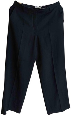 Armani Collezioni \N Black Cloth Trousers