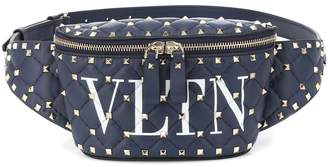Valentino Garavani Rockstud Spike VLTN leather belt bag