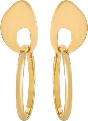 Modern Weaving Hoop Set Earrings