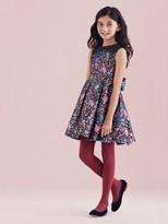 Oscar de la Renta Chine Garden Mikado Party Dress