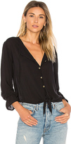 Merritt Charles Satire Blouse in Black. - size S (also in XS)