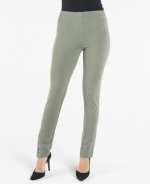 Nanette Lepore Pull On Legging with Front Snap Details