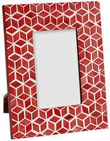 """Mela Artisans Starshine Frame - Marsala Red 4"""" x 6"""""""