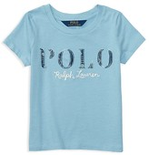 Ralph Lauren Girls' Polo Tee - Little Kid