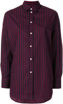 IRO long-sleeved striped shirt
