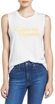 Daydreamer Women's 'California Dreamin' Graphic Muscle Tee